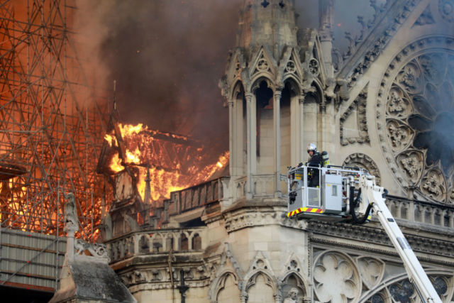 Paris and the World Mourns Notre Dame