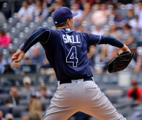 Blake Snell Makes MLB Debut via: apardavila on Flickr