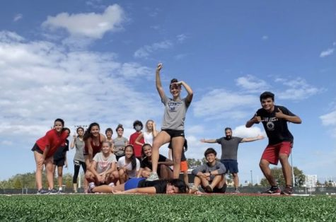 Track team after workouts via Summer Haura