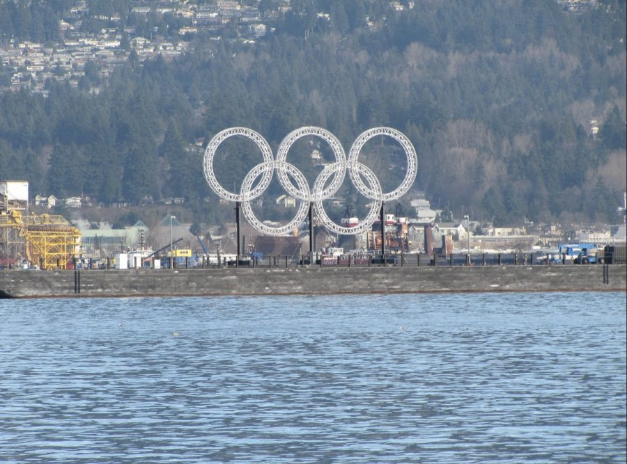 Photo by Flickr user US Embassy Canada, titled The Olympic Rings.